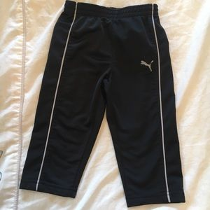 PUMA TODDLER BLACK PANTS